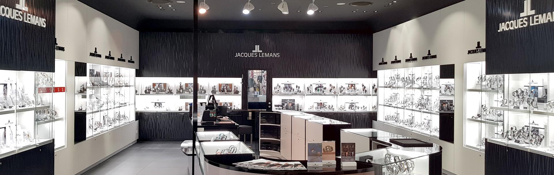 Flagship Store Atrio Innenansicht | Jacques Lemans®